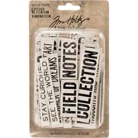 Idea-Ology: Word & Phrases Chipboard Quote Chips 58/Pkg