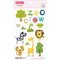 Bella Blvd: The Zoo Crew Chipboard Icons