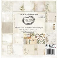 Vintage Artistry Collection Pack, 12x12, 9/Pkg