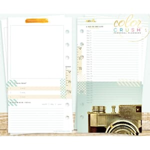 Websters Pages: Memory Keeping - Color Crush Personal Planne