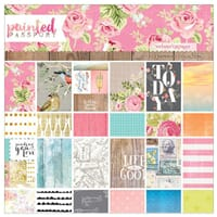 Websters Pages: Painted Passport Paper Pad, 24/Pkg
