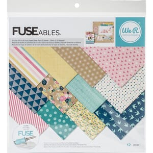 WRMK: FUSEables Plastic Coated Paper Pack, 12/Pkg