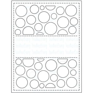 Your Next Stamp: Circle Panel - Die