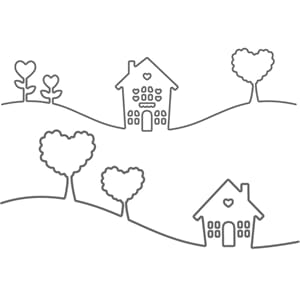 Your Next Stamp: Home Is Where The Heart Is - Die