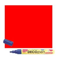 HOBBY LINE Decopen Red 2-4 mm