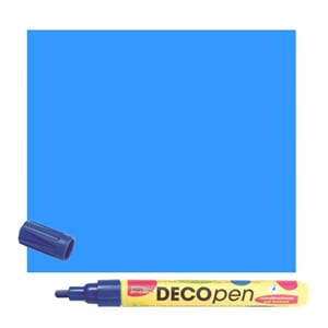 HOBBY LINE Decopen light blue 2-4 mm