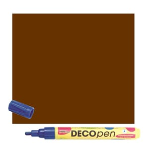HOBBY LINE Decopen brown 2-4 mm