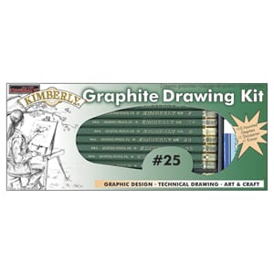 General Pencil: Kimberly Graphite Drawing Kit