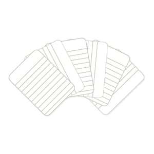 Project Life: Lined Cards 100/Pkg