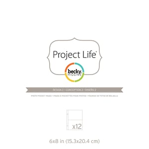 Project Life: 6x8 Photo Pocket Pages 12/Pkg