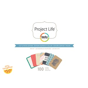 Project Life: Amy Tan Cut & Paste  Mini Kit