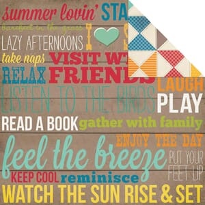Simple Stories: Porch Rules - I Heart Summer