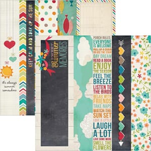 Simple Stories: 2x12 & 4x12 inch Horizontal Journaling Cards
