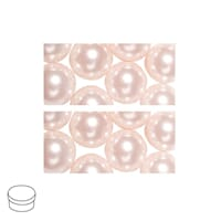 Renaissance 4mm - Powder pink, voksperle av glass