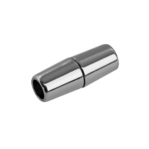 Magnetlås - 30x11mm, for 7mm snor - Sølv - 1 stk
