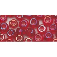 Rocailles 2,6mm ø - Wine-red transparent