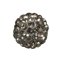 Shamballa Perle - 12mm ø, anthracite