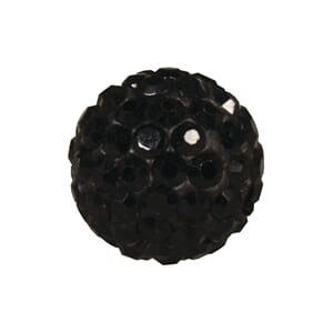 Shamballa Perle - 12mm ø, black