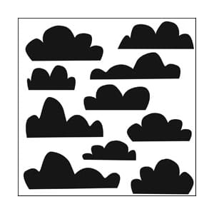 Crafters Workshop: Templates - Mini Clouds