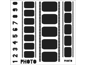 Crafters Workshop: Templates - Filmstrips