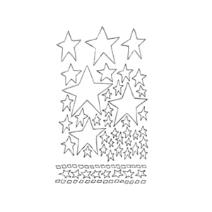 Dylusions: Starry Starry Night - Large Stencils