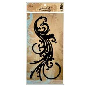 Tim Holtz: Flourish - Idea-Ology Masks 1/Pkg