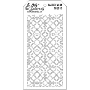 Tim Holtz: Latticework - Layered Stencil