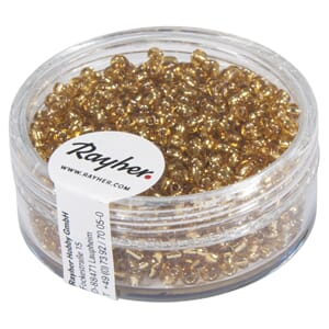 Rocailles 2mm ø - Gold