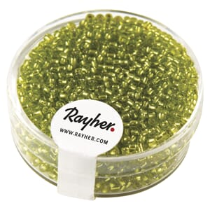 Rocailles 2mm ø - Light green