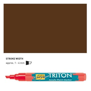 Triton Acrylic Paint Marker 1.4 - Havanna Brown
