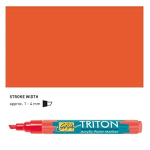 Triton Acrylic Paint Marker 1.4 - Vermillion Red