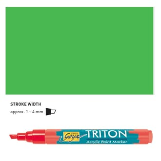 Triton Acrylic Paint Marker 1.4 - Yellowish Green