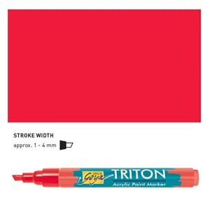 Triton Acrylic Paint Marker 1.4 - Cherry Red
