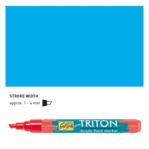 Triton Acrylic Paint Marker 1.4 - Light Blue