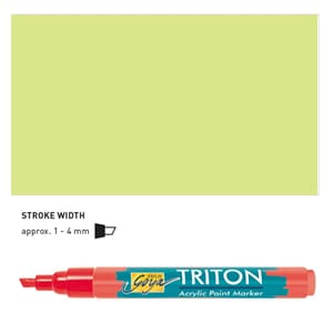 Triton Acrylic Paint Marker 1.4 - Pale Green