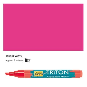 Triton Acrylic Paint Marker 1.4 - Viloet Red