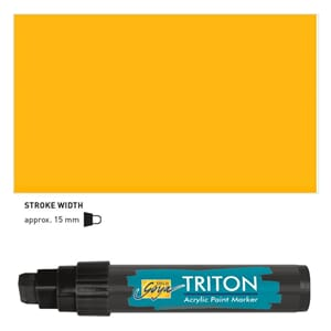 Triton Acrylic Paint Marker 15.0 - Maize Yellow