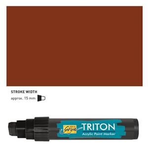 Triton Acrylic Paint Marker 15.0 - Dark Oxide Brown