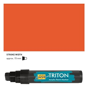 Triton Acrylic Paint Marker 15.0 - Vermillion Red