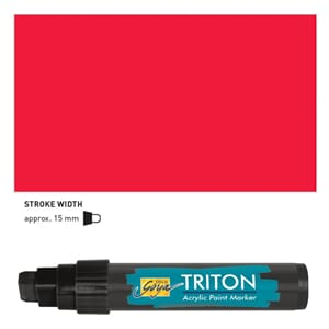 Triton Acrylic Paint Marker 15.0 - Cherry Red