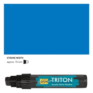 Triton Acrylic Paint Marker 15.0 - Primary Blue