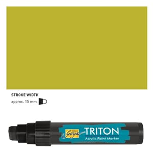 Triton Acrylic Paint Marker 15.0 - Light Olive Green