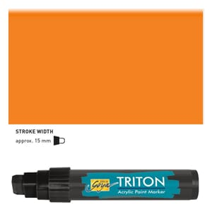 Triton Acrylic Paint Marker 15.0 - Fluoresc. Orange