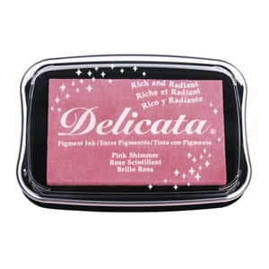 Imagine: Rose Glitz Delicata Pigment Ink Pad