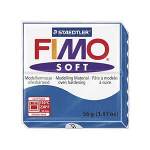 Fimo Soft: Pacific Blue 37, 56g