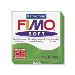 Fimo Soft: Tropical Green 53, 56g