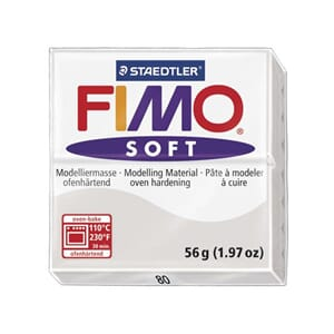 Fimo Soft: Dolphin Grey 80, 56g
