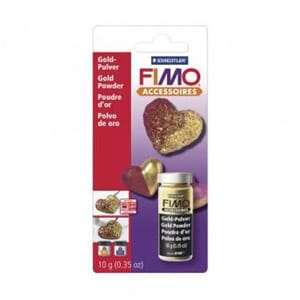 Fimo Metallic Pulver - gold