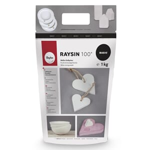 Raysin 100 - Gipspulver 1kg, for form støping