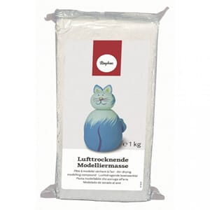 Modelling clay air-drying, 1 kg, terra
